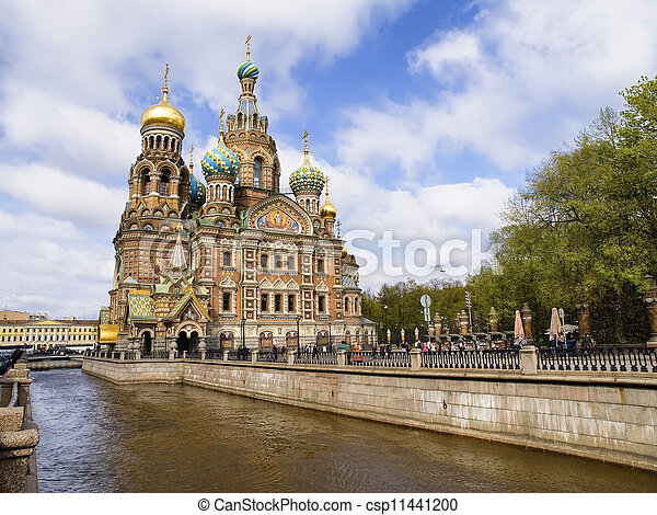 Church of the Savior on Spilled Blood - csp11441200
