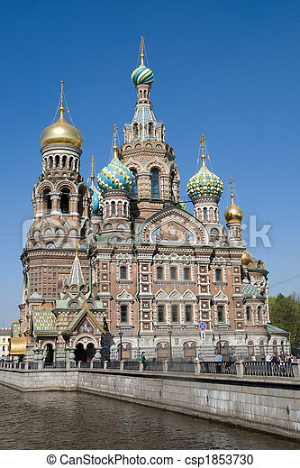 Church of the Savior on Spilled Blood - csp1853730