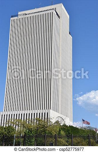 Church Office Building in Salt Lake City - csp52775977