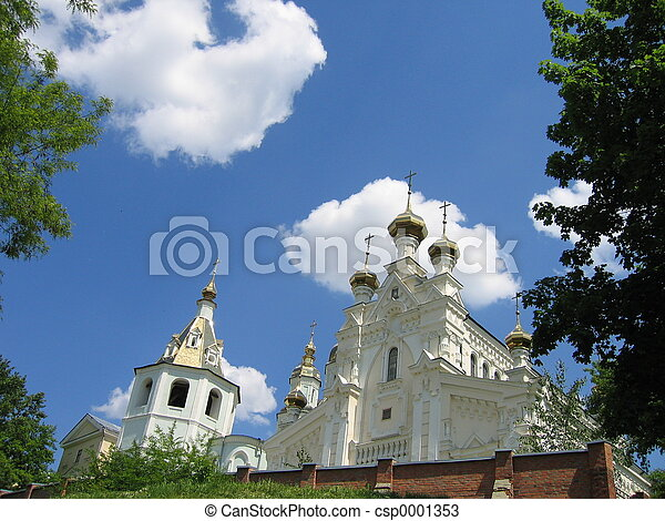 church on hill - csp0001353