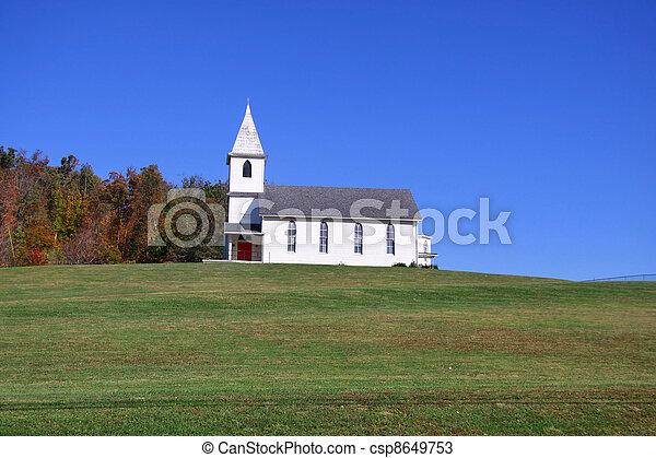 Church on the hill - csp8649753