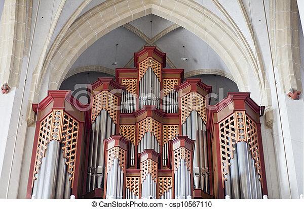 Church organ - csp10567110