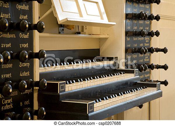 Church organ - csp0207688