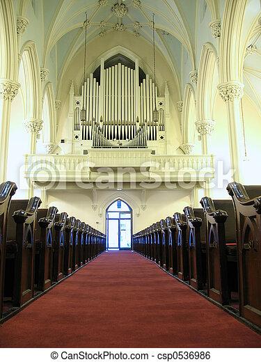 Church organ - csp0536986