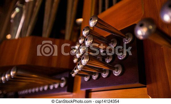 church organ - csp14124354