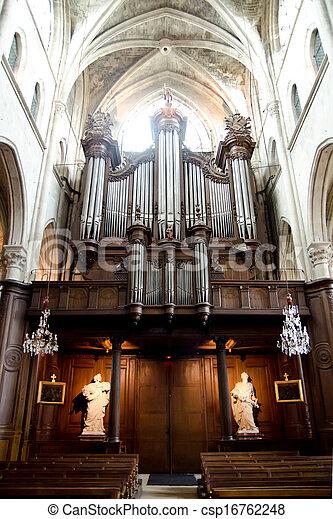 church organ - csp16762248