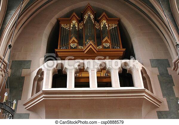 Church Organ - csp0888579