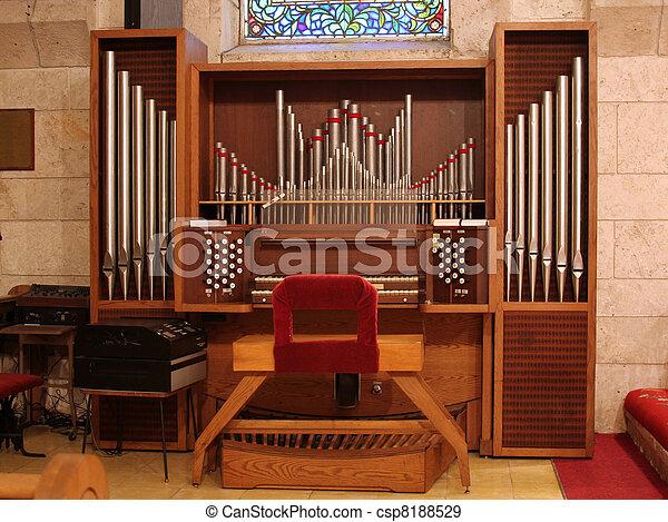 Church Organ - csp8188529