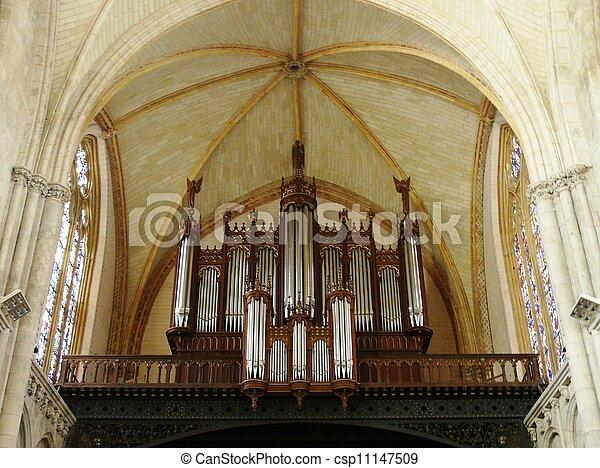 Church organ - csp11147509