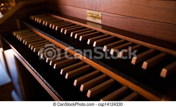 church organ - csp14124330