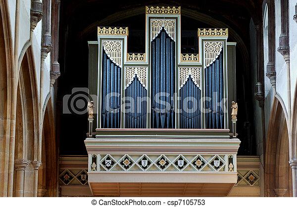 Church organ - csp7105753