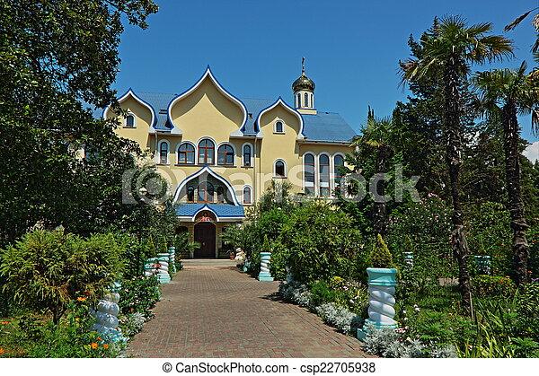 Iglesia ortodoxa. - csp22705938