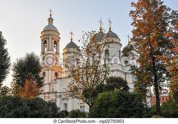 Iglesia ortodoxa. - csp22705953