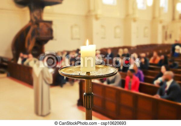 Church service  - csp10620693