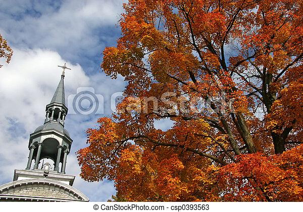 Church steeple - csp0393563
