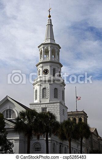 Church Steeple - csp5285483