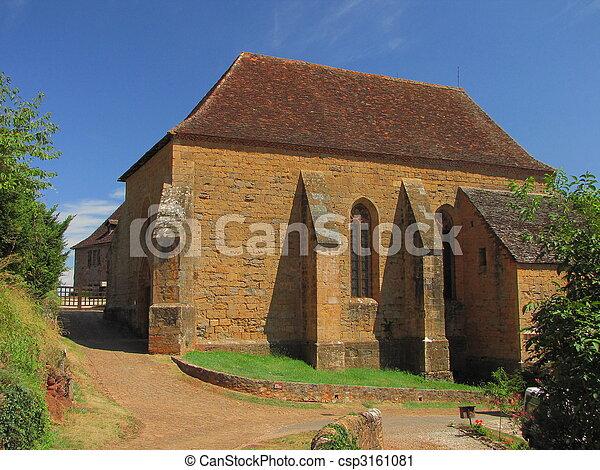 Church, village, Castelnau - csp3161081