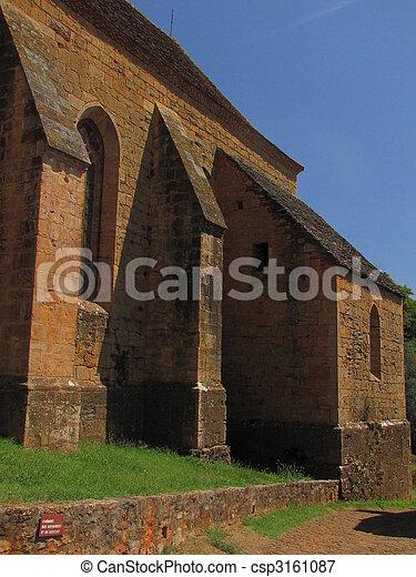 Church, village, Castelnau - csp3161087