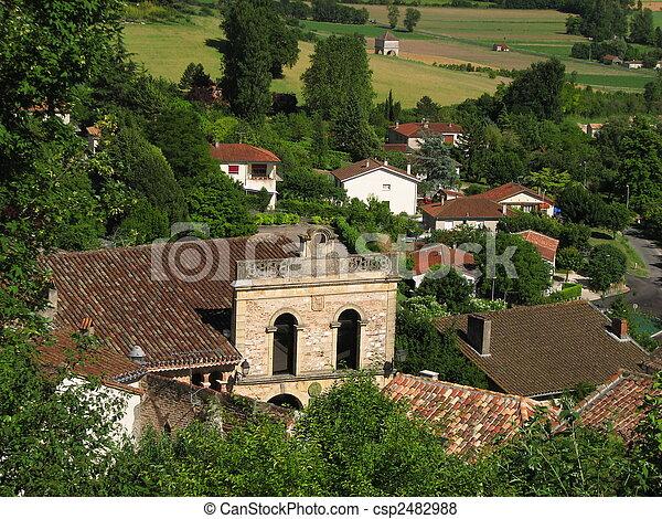 Church, Village of Penne-Agennais - csp2482988