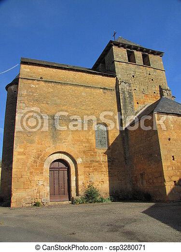 Church, village - csp3280071