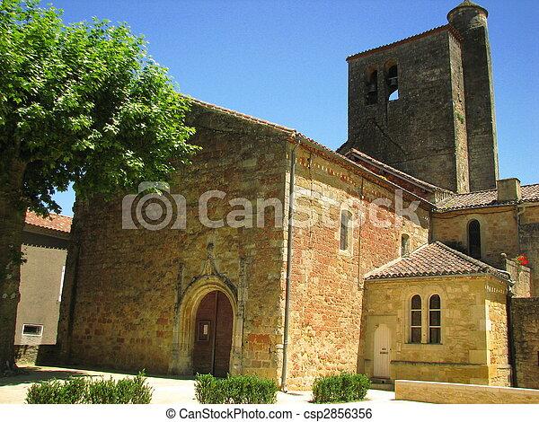 Church, village - csp2856356