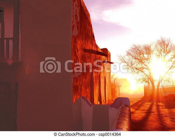 Church wall - csp0014364