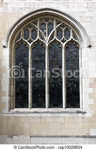 Church window - csp10029834