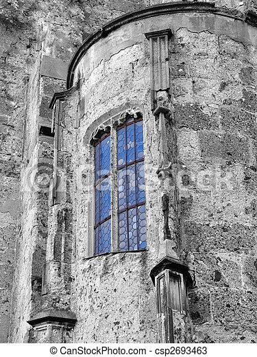 church window - csp2693463