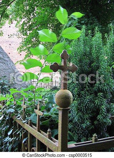 Churchyard Fence - csp0003515