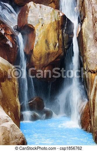 chute eau - csp1856762