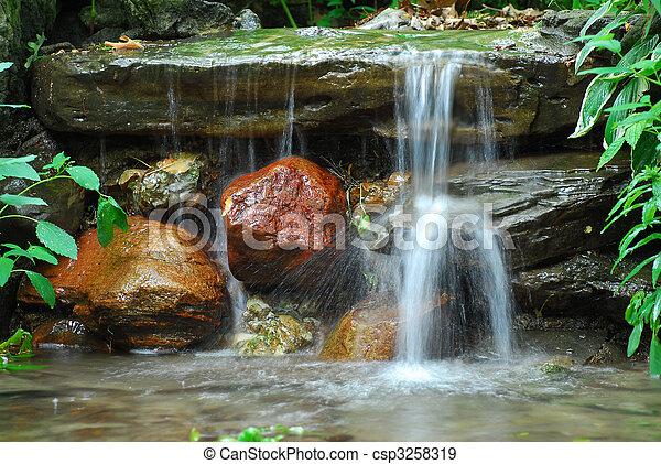 chute eau - csp3258319