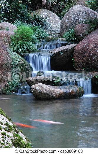 chutes d'eau - csp0009163