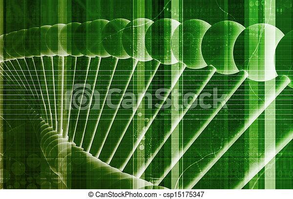 ciência, tecnologia médica - csp15175347
