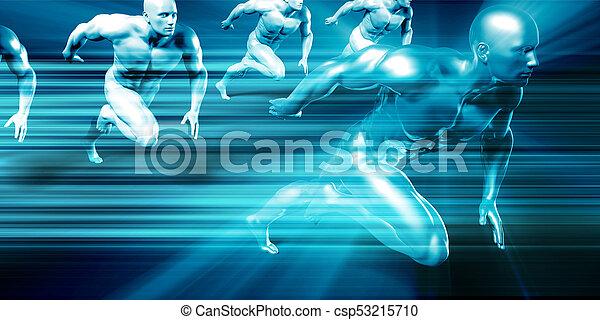 ciência, tecnologia médica - csp53215710