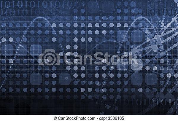 ciência, tecnologia médica - csp13586185