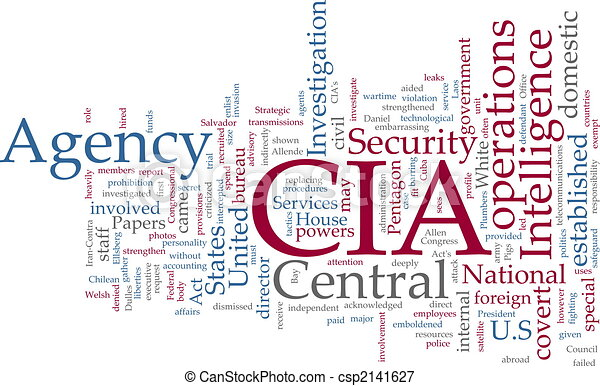 CIA Central Intelligence Agency - csp2141627