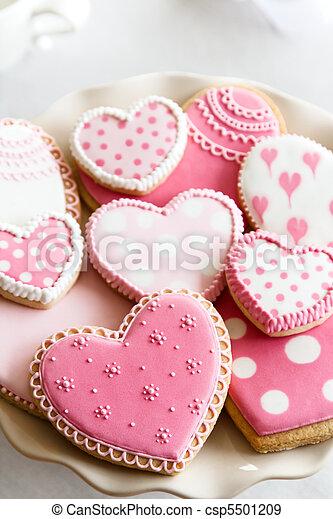 ciasteczka, valentine - csp5501209