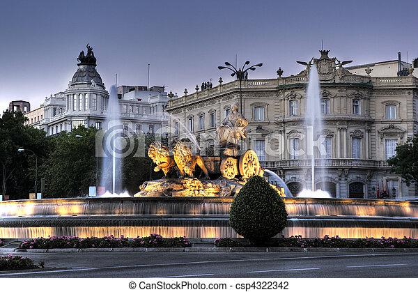 Cibeles Fountain - csp4322342