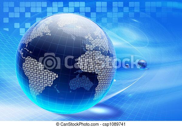 Cyberespacio - csp1089741