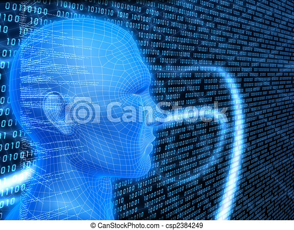 Cyberespacio - csp2384249
