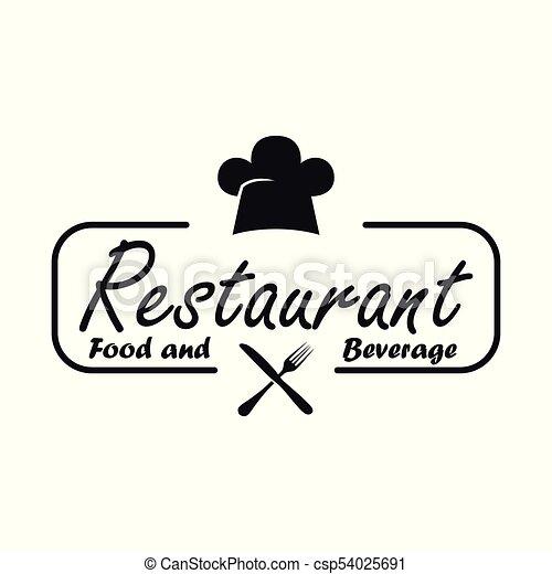cibo, bianco, bevanda, fondo, ristorante - csp54025691