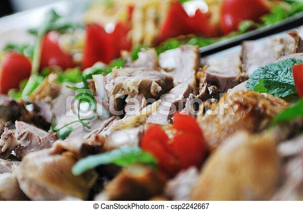 cibo, buffet - csp2242667