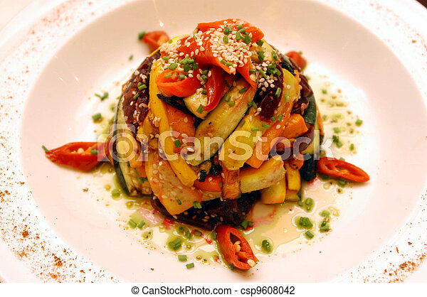 cibo, cucina, -, ristorante - csp9608042