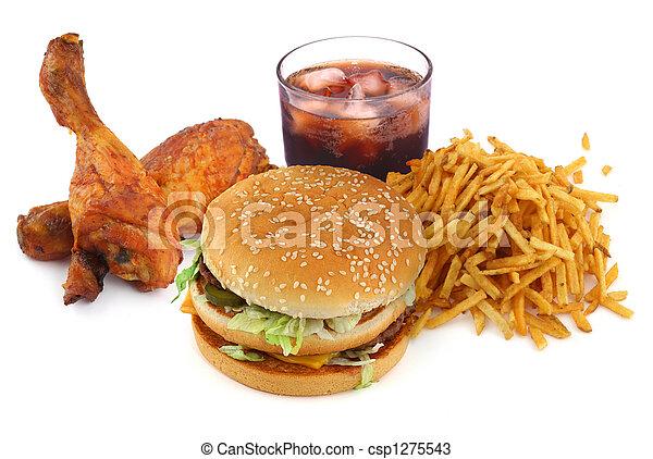 cibo, digiuno, collezione - csp1275543