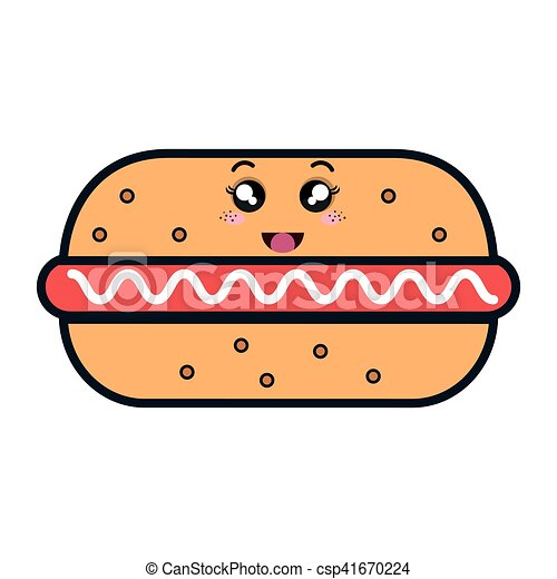 cibo  kawaii  stile  digiuno kawaii  stile  cibo hot dog clipart images hot dogs clipart free