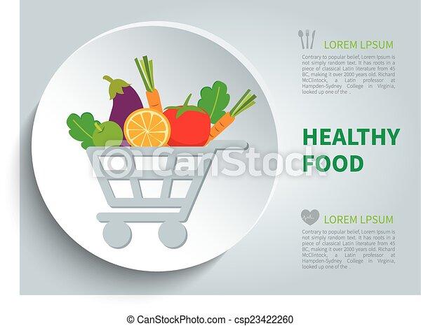 cibo, organico - csp23422260