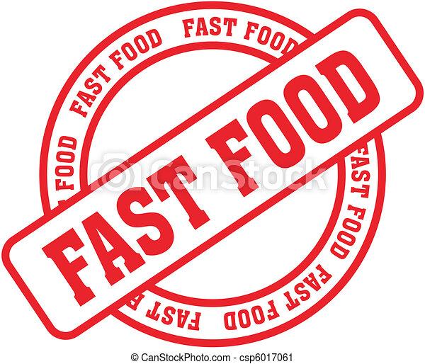 cibo, stamp8, parola, digiuno - csp6017061