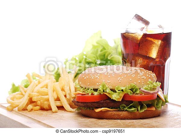 cibo, tavola, digiuno - csp9197651