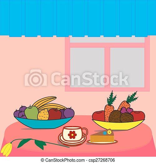 cibo, tavola - csp27268706