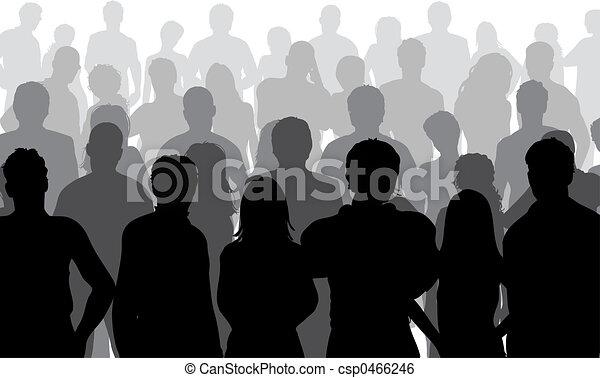 Cierren la multitud - csp0466246